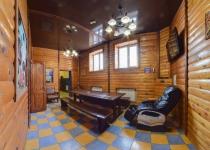 Зал Русская баня Банно-гостиничный комплекс Жар-Птица Омск, 14-я линия, 2а