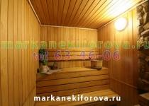 Зал №2 Сауна на Марка Никифорова Омск, Марка Никифорова, 9